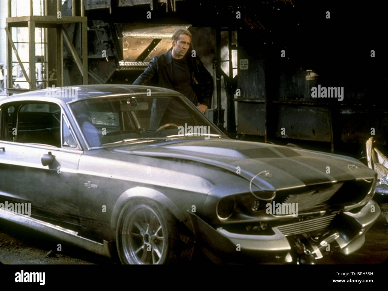 NICOLAS CAGE GONE IN 60 SECONDS (2000) - Stock Image