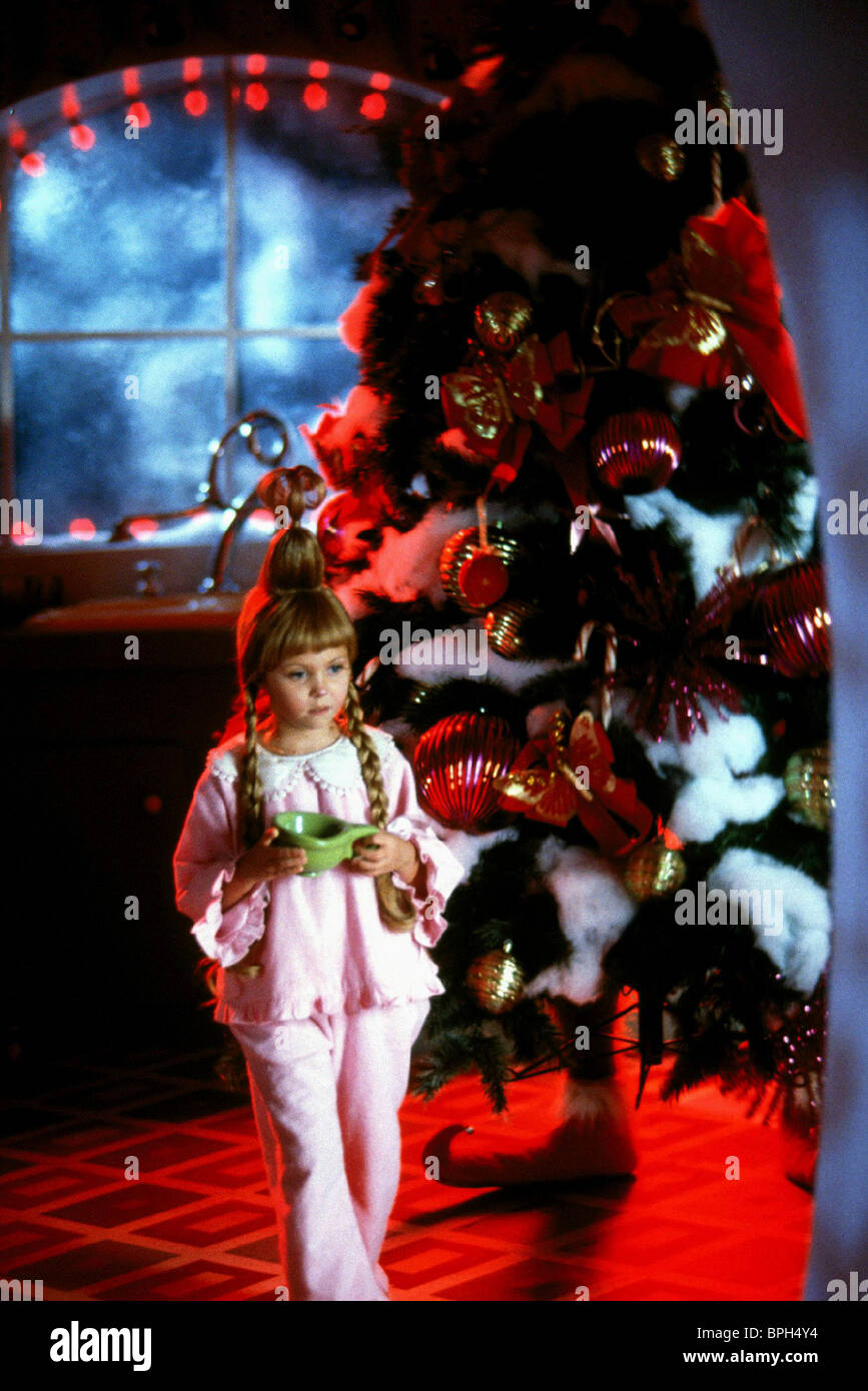 Taylor Momsen Bill Irwin How The Grinch Stole Christmas 2000 Stock Photo Alamy