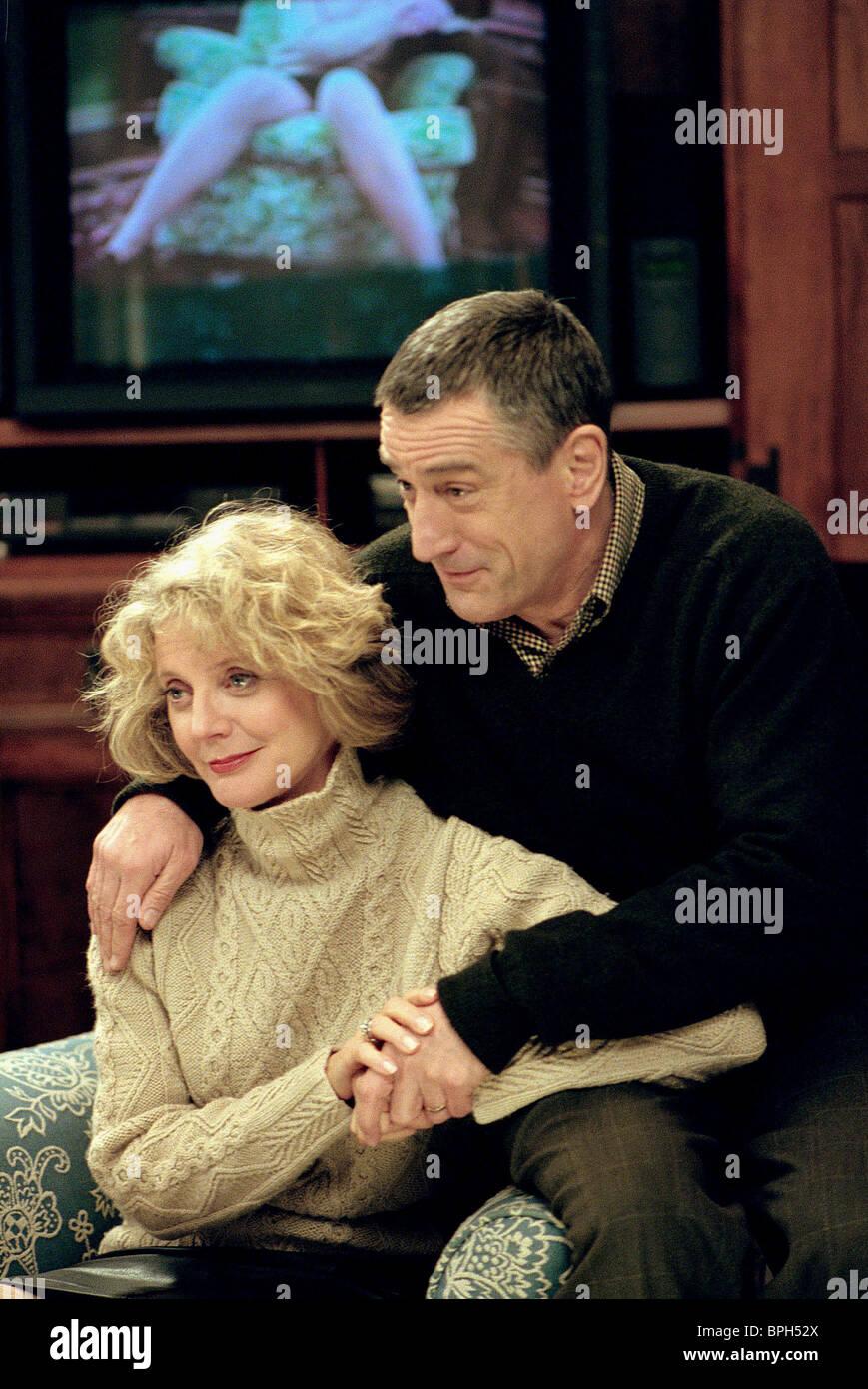BLYTHE DANNER & ROBERT DE NIRO MEET THE PARENTS (2000) - Stock Image