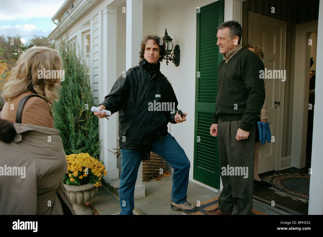 JAY ROACH & ROBERT DE NIRO MEET THE PARENTS (2000) - Stock Image