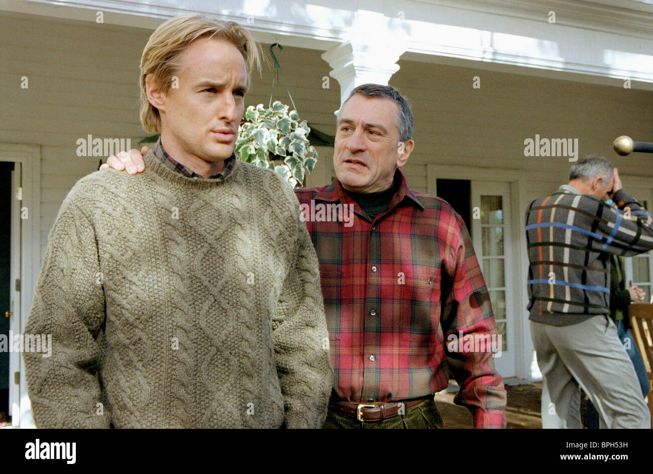 OWEN WILSON & ROBERT DE NIRO MEET THE PARENTS (2000) - Stock Image