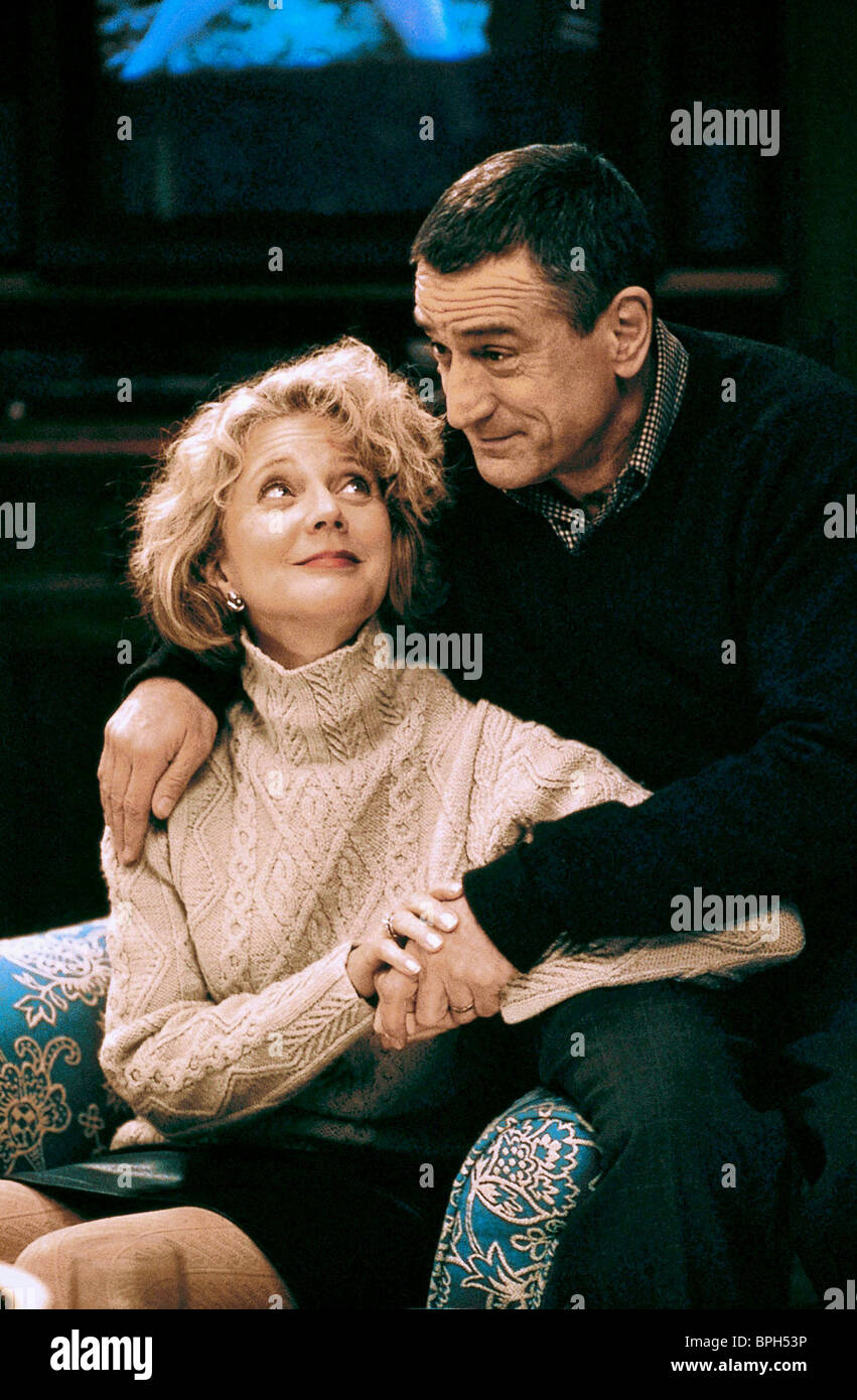 BLYTHE BANNER & ROBERT DE NIRO MEET THE PARENTS (2000) - Stock Image