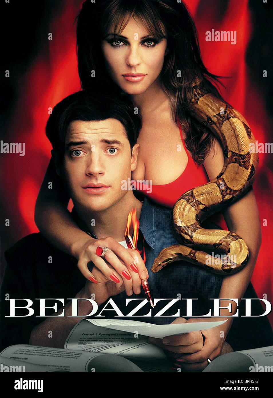 LIZ HURLEY & BRENDAN FRAZER BEDAZZLED (2000) - Stock Image