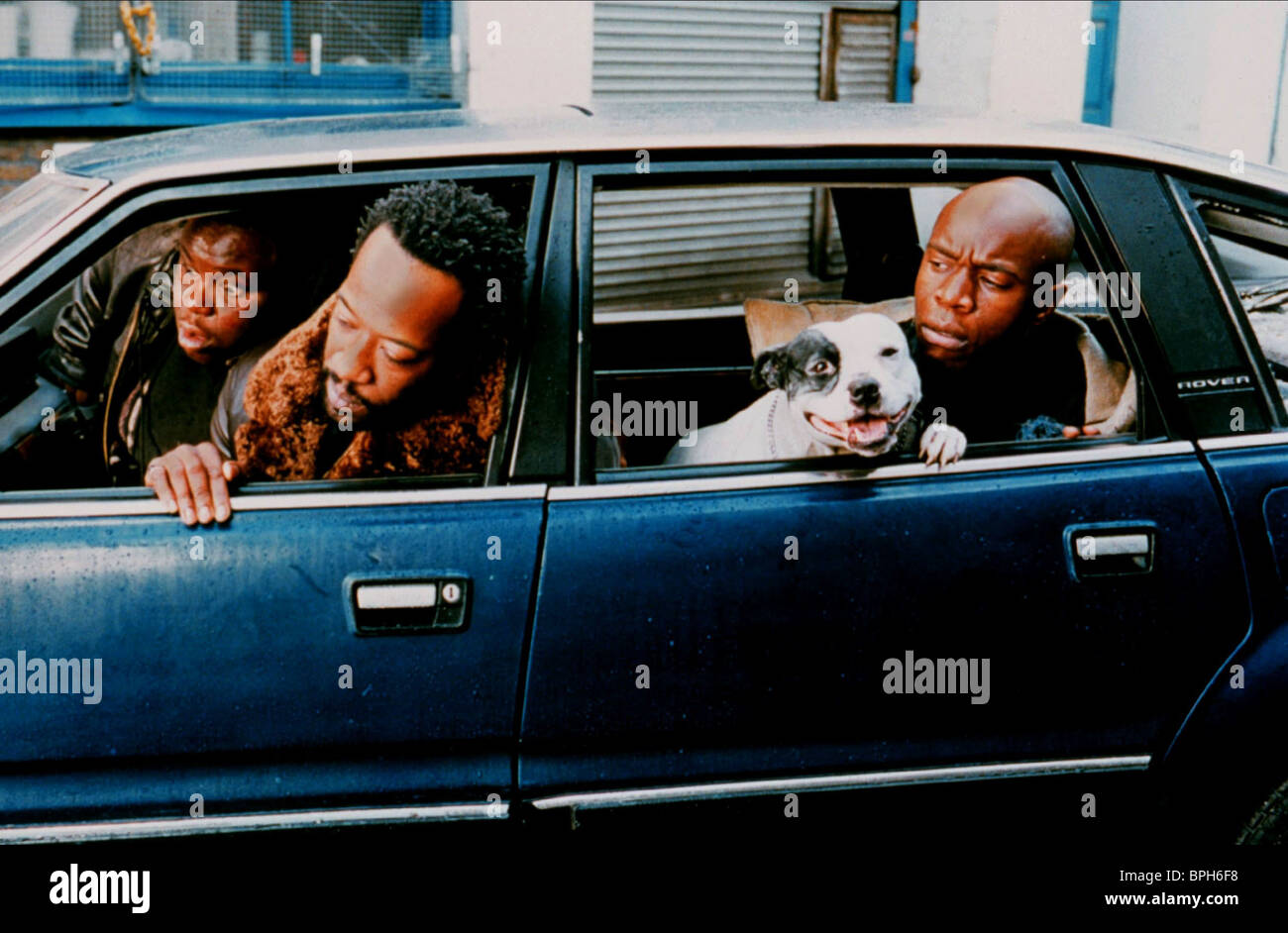 ADE LENNIE JAMES & ROBBIE GEE SNATCH (2000) - Stock Image
