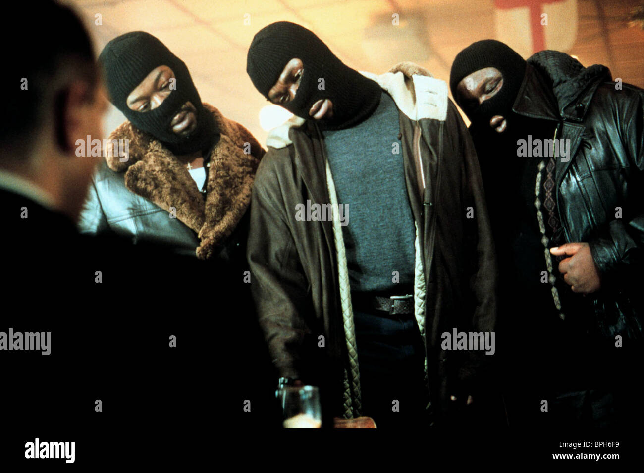 ROBBIE GEE LENNIE JAMES & ADE SNATCH (2000) - Stock Image