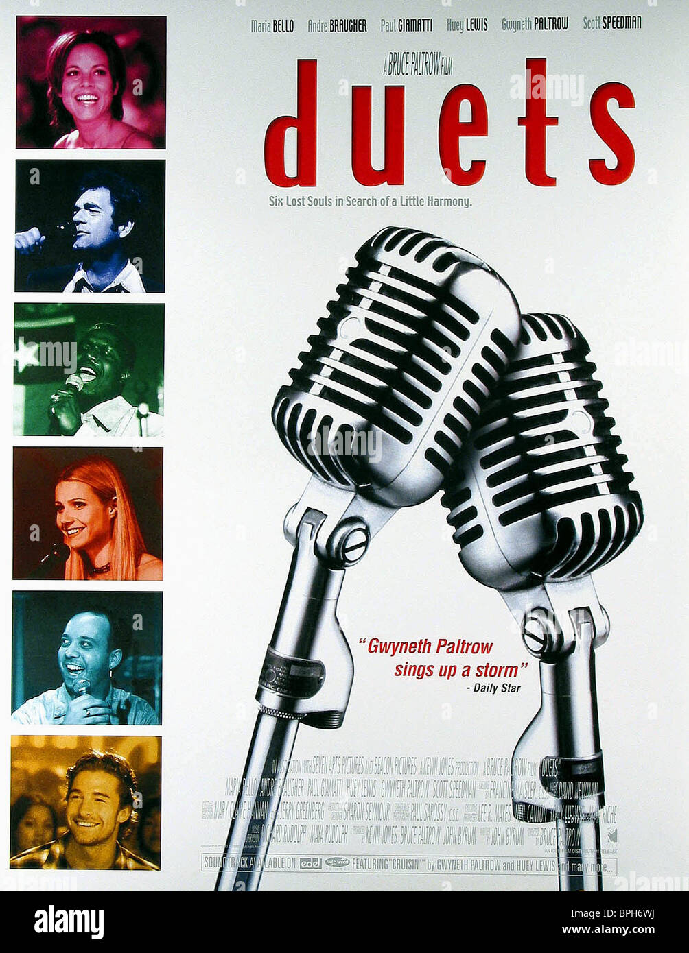 FILM POSTER DUETS (2000) - Stock Image