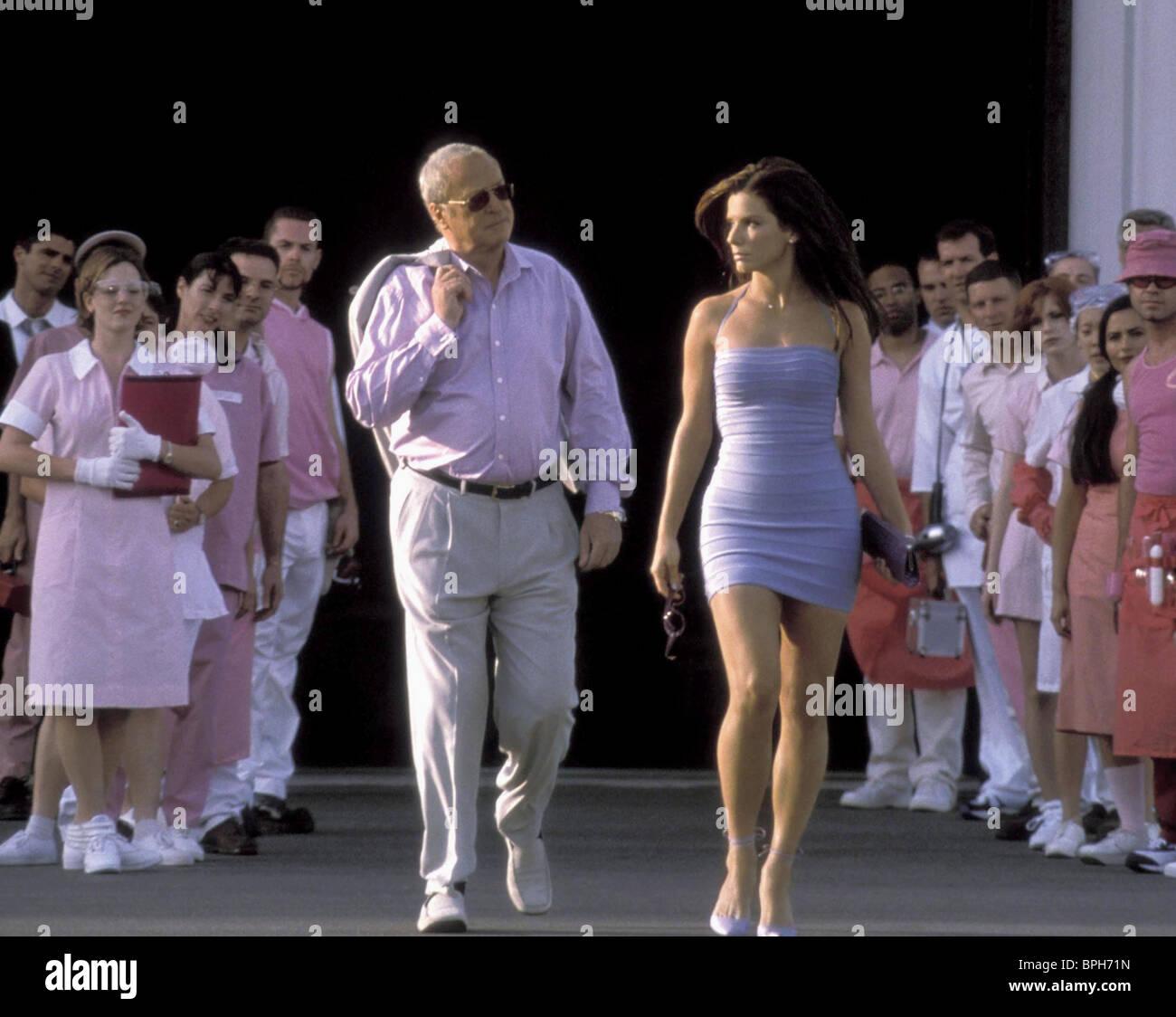 Michael Caine Sandra Bullock Miss Congeniality 2000 Stock Photo Alamy