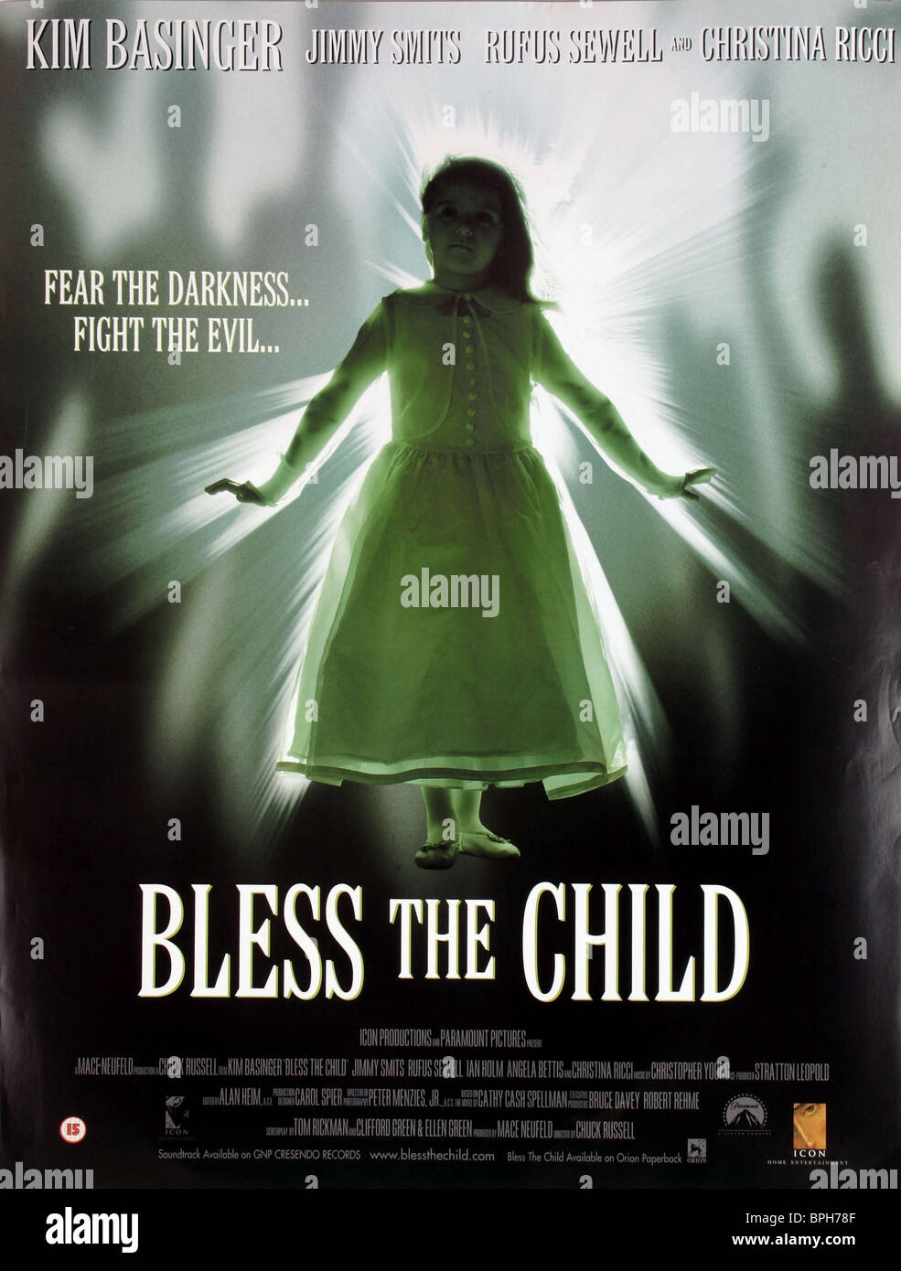 Film Poster Bless The Child 2000 Stock Photo 31111711 Alamy