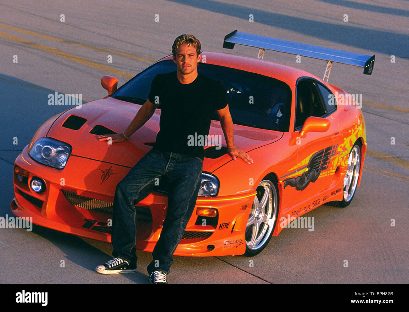Paul Walker The Fast And The Furious 2001 Stock Photo Alamy