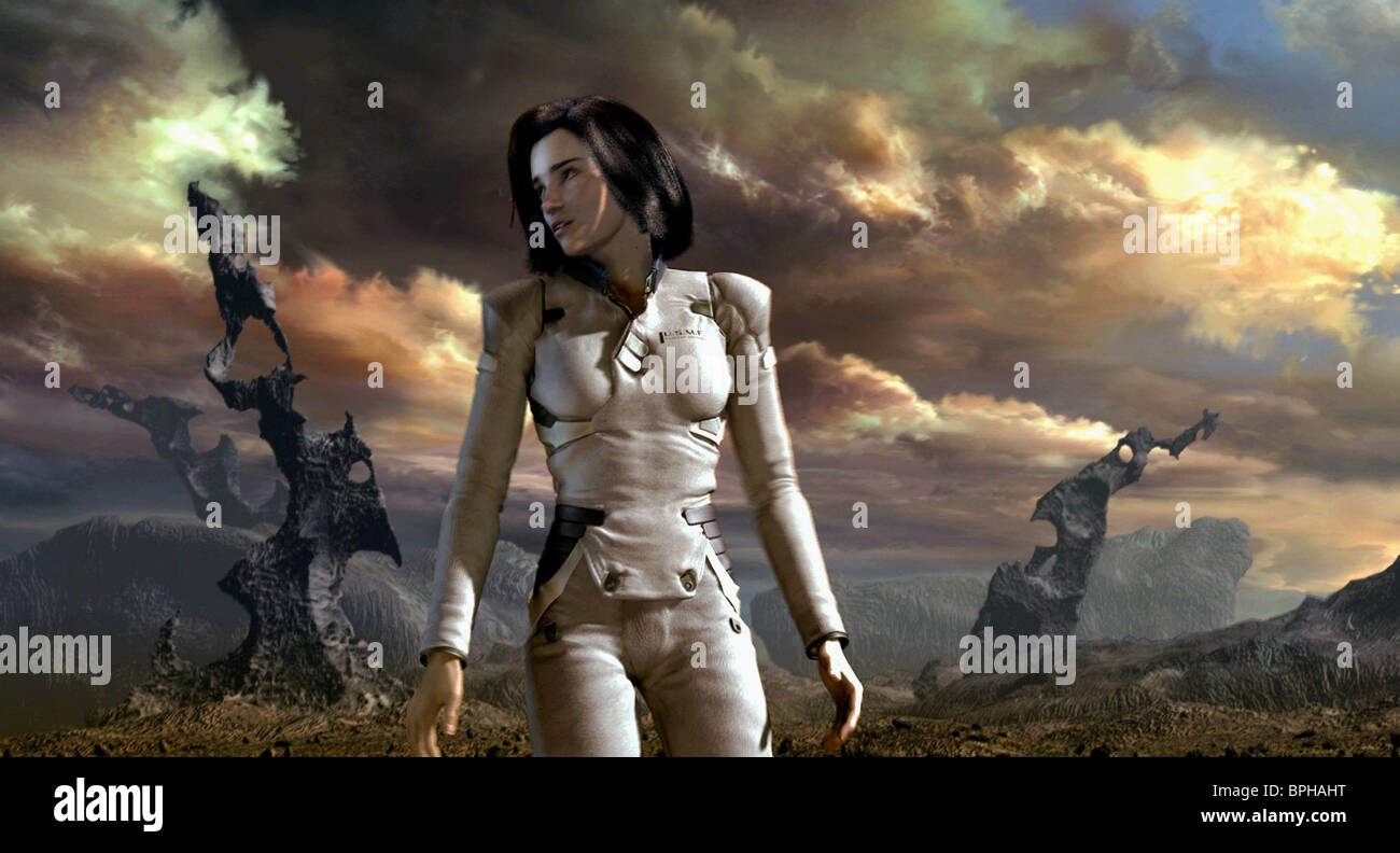 Dr Aki Ross Final Fantasy Spirits Within 2001 Stock Photo Alamy