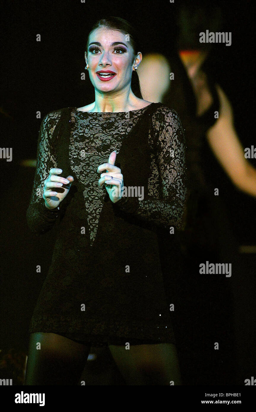 ANNE MANDRELLA CHICAGO STAGE MUSICAL (2001) - Stock Image