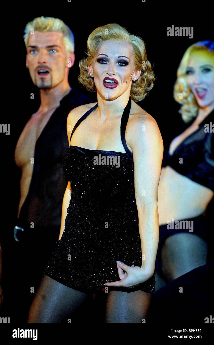 ANNA MONTANARO CHICAGO STAGE MUSICAL (2001) - Stock Image