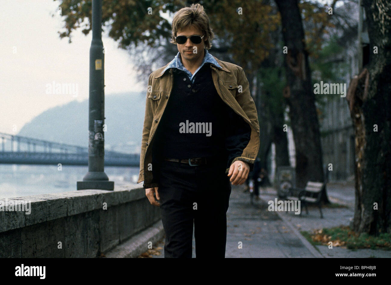 BRAD PITT SPY GAME (2001) - Stock Image