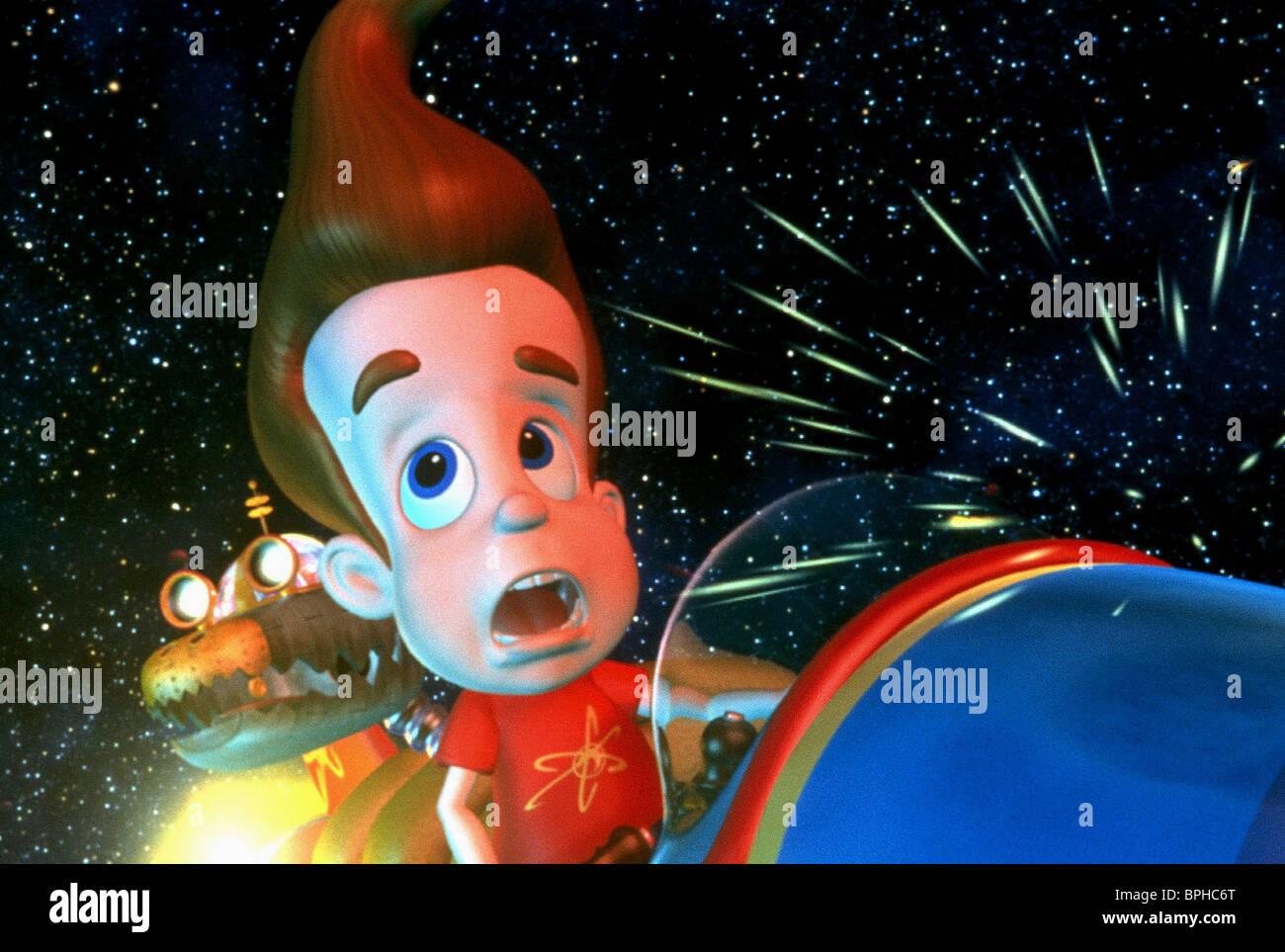 JIMMY & GODDARD JIMMY NEUTRON: BOY GENIUS (2001 Stock Photo ...