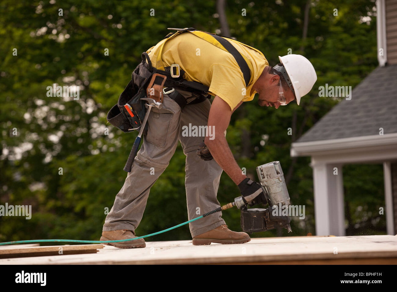 Nailing Tool Stock Photos Amp Nailing Tool Stock Images Alamy