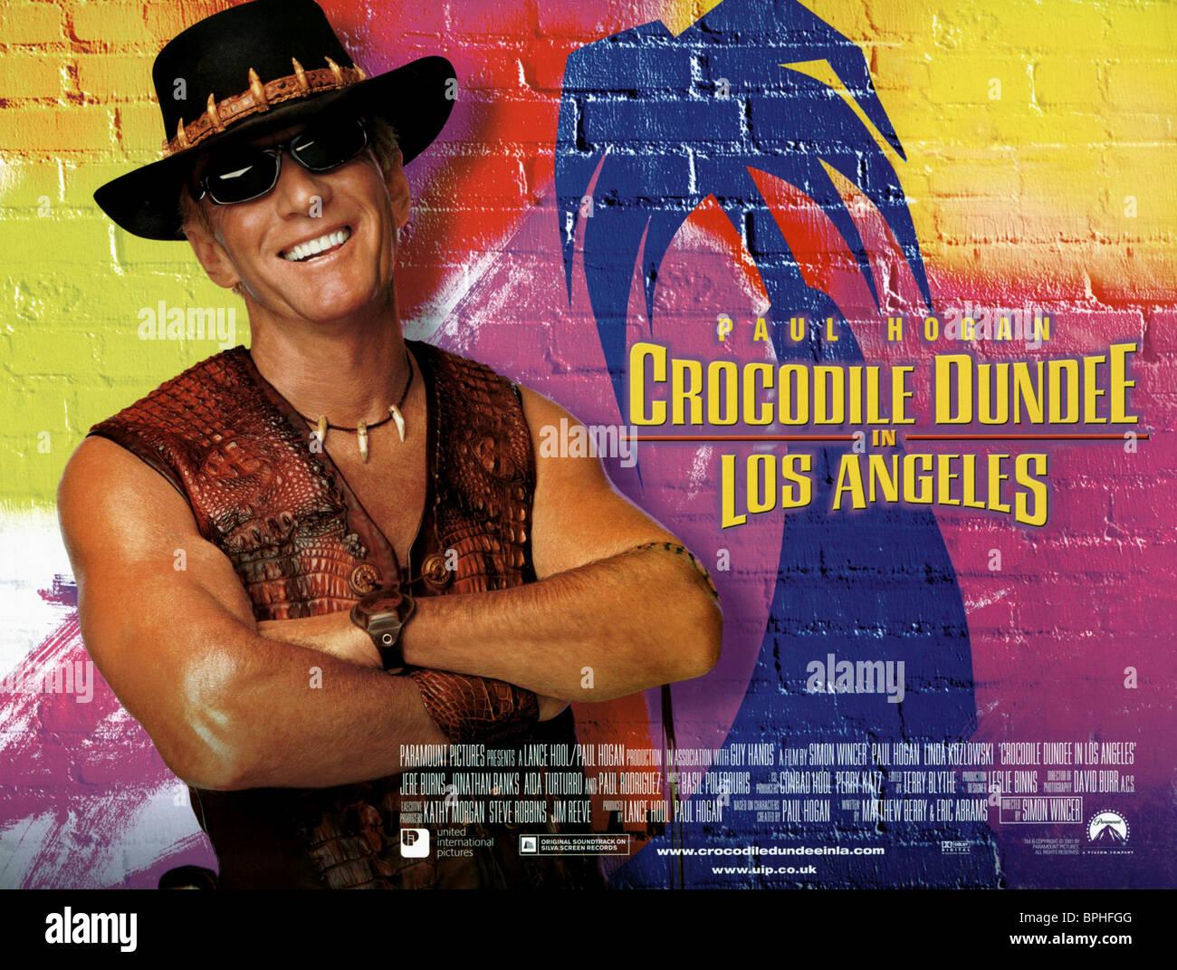 Crocodile Dundee 2 Poster