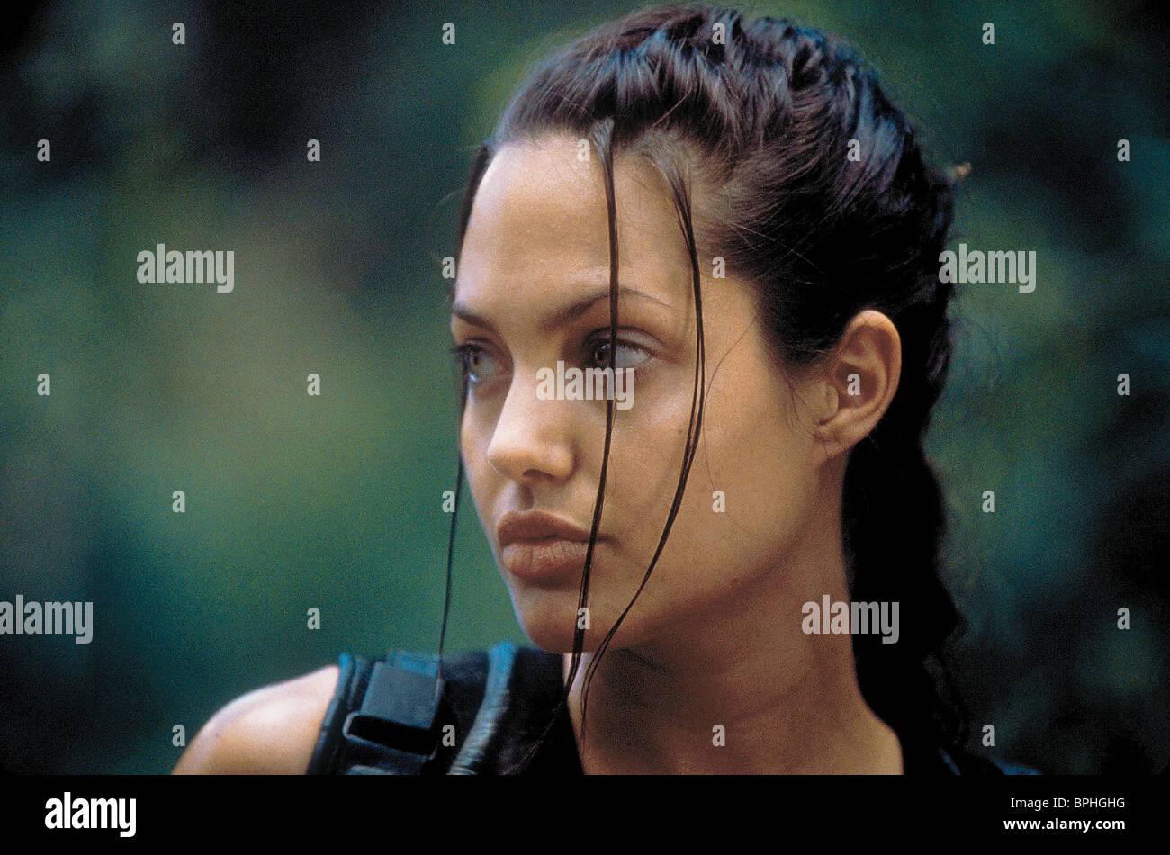 ANGELINA JOLIE LARA CROFT: TOMB RAIDER (2001) - Stock Image