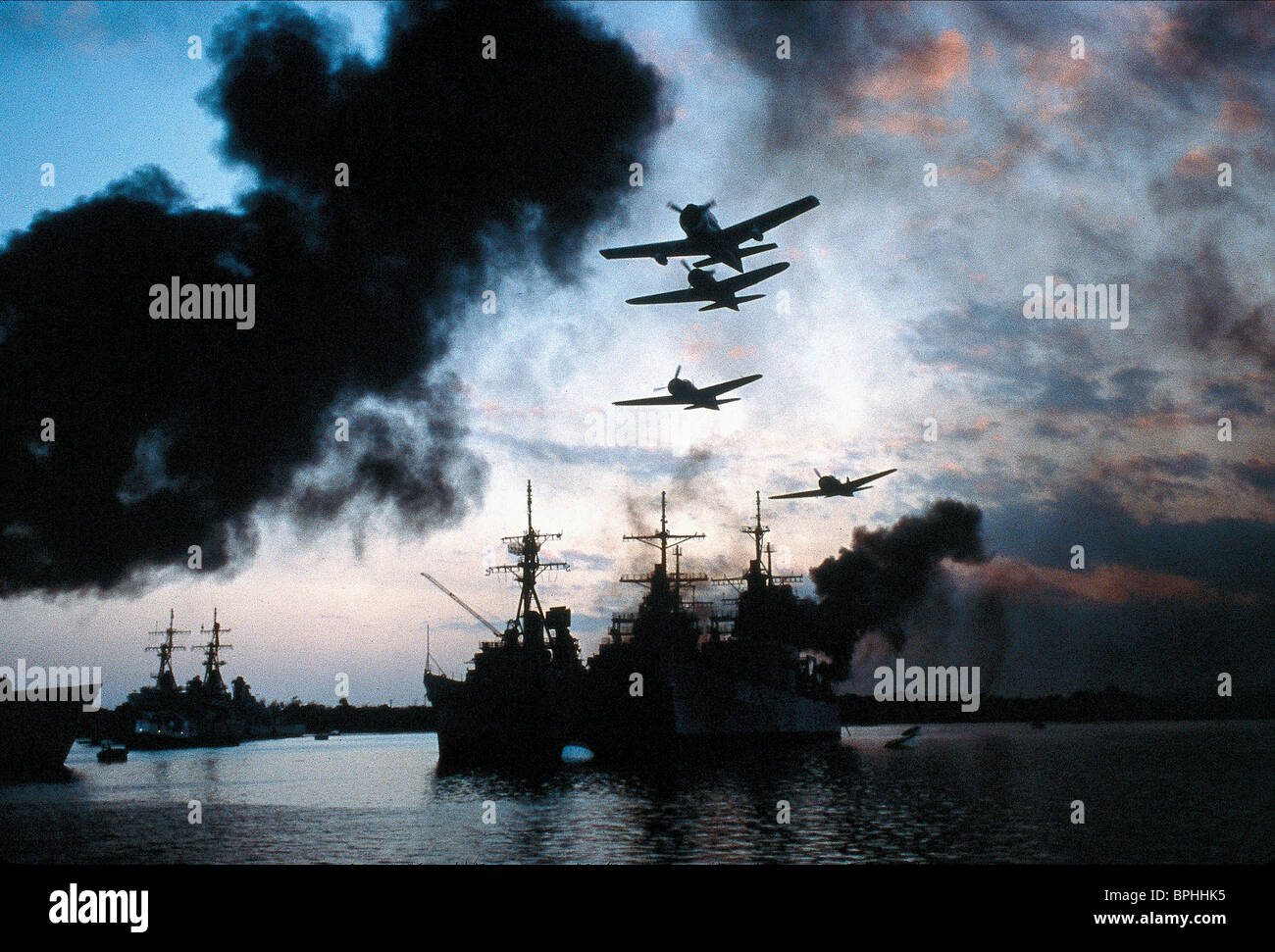 Japanese Attack Scene Pearl Harbour Pearl Harbor 2001 Stock Photo Alamy