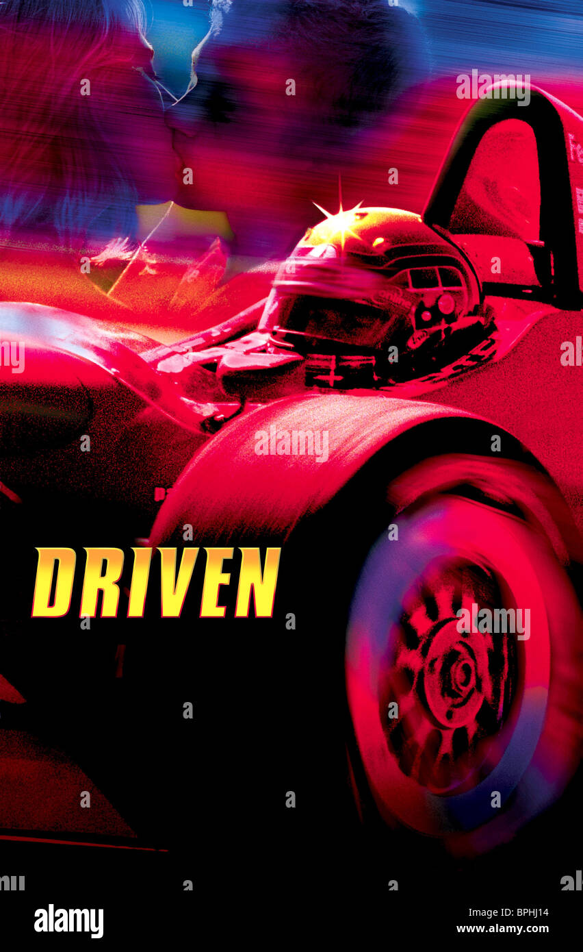 FILM POSTER DRIVEN (2001) - Stock Image