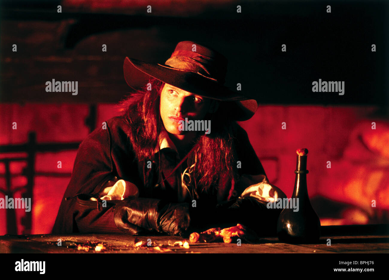 JUSTIN CHAMBERS THE MUSKETEER (2001) - Stock Image