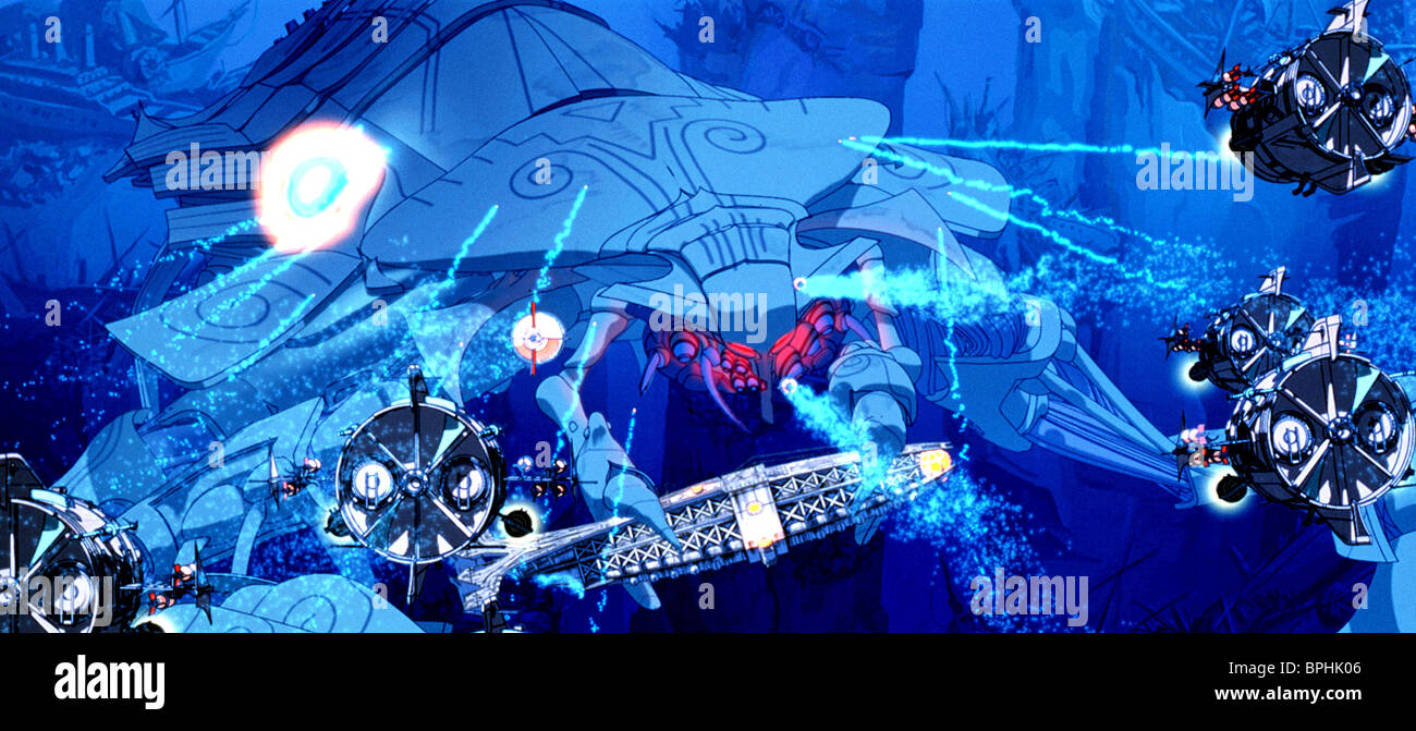 THE LEVIATHAN ATLANTIS: THE LOST EMPIRE (2001) - Stock Image
