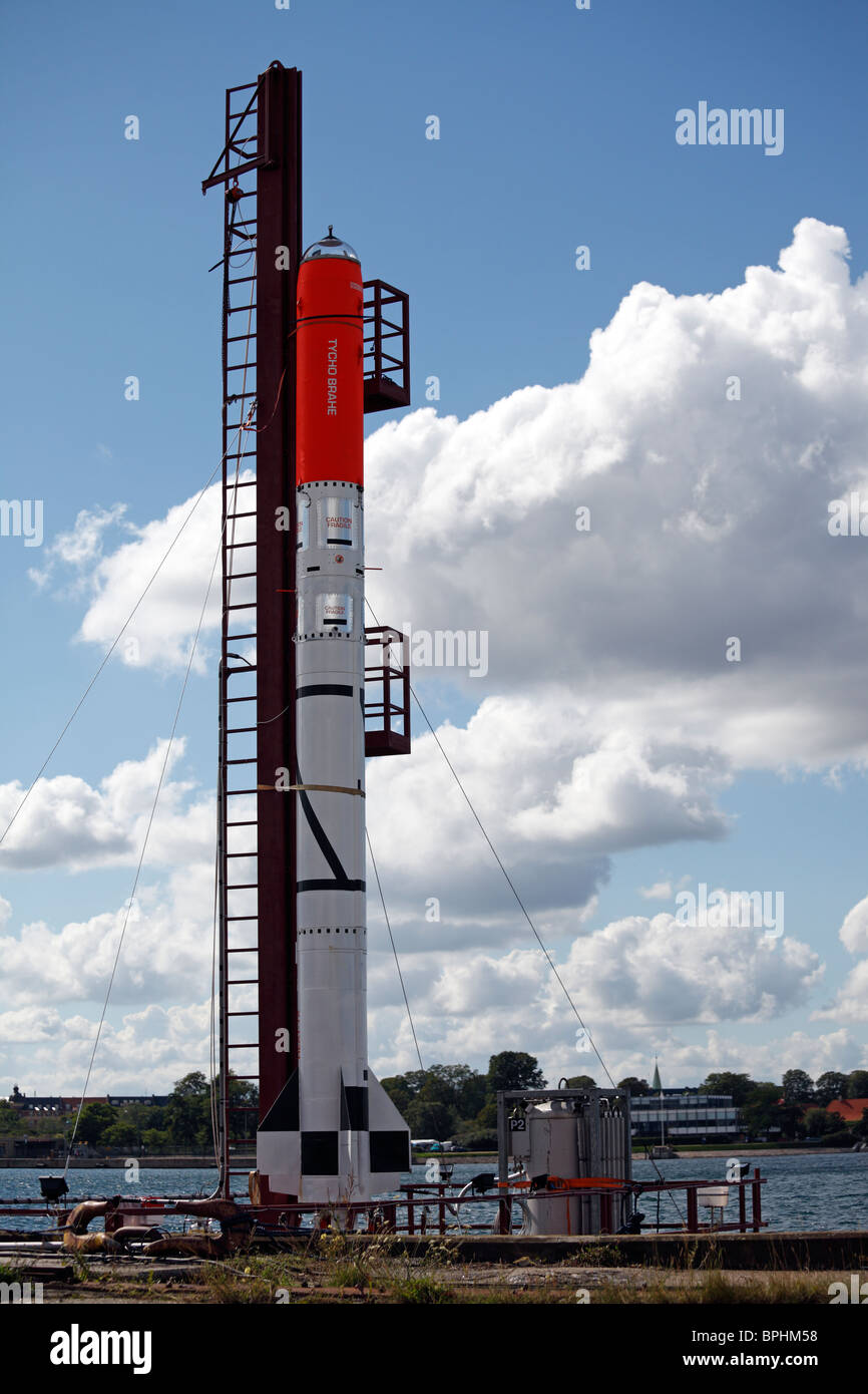 Danish organization launched an amateur rocket in the Baltic Sea 25