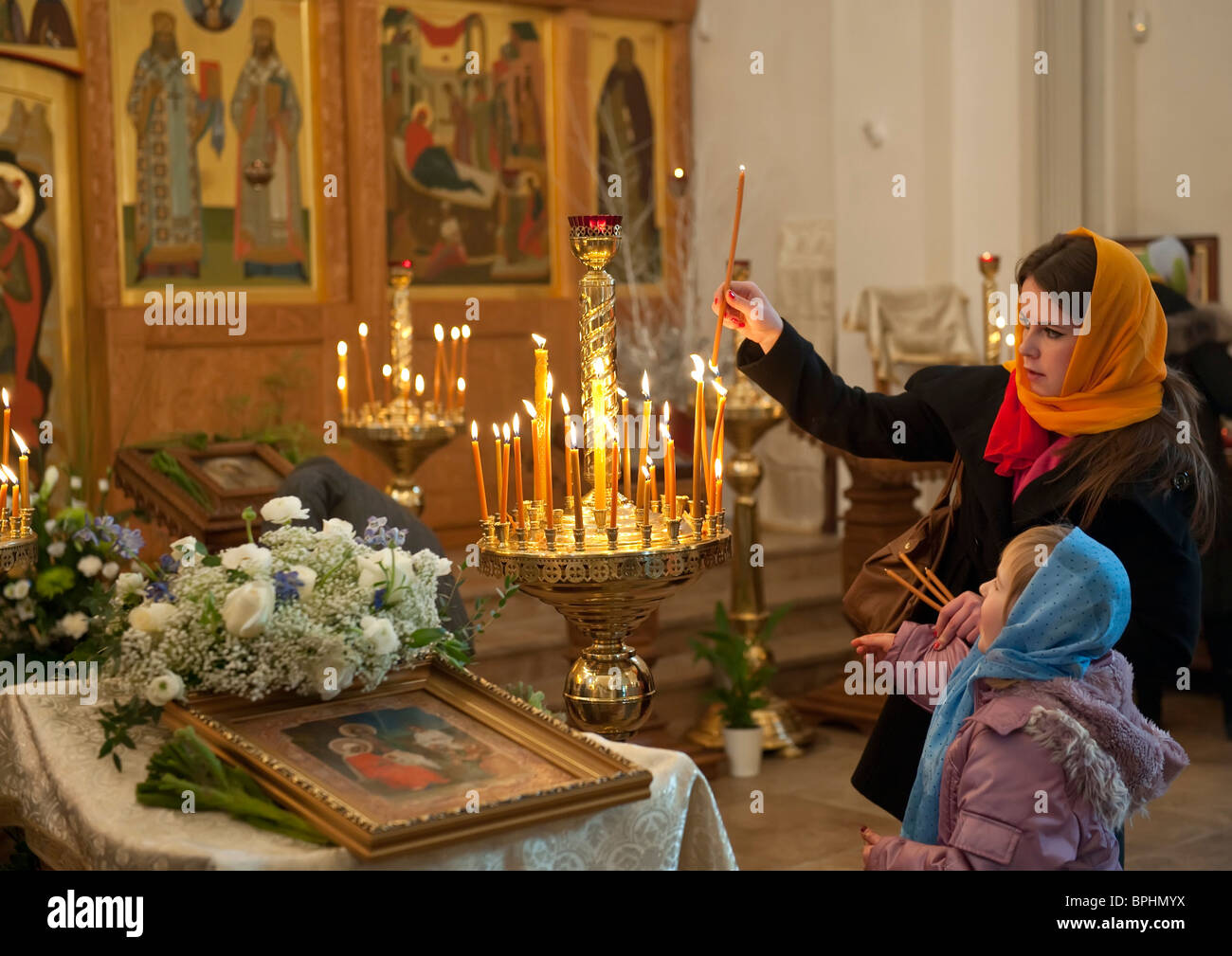 Russian orthodox women