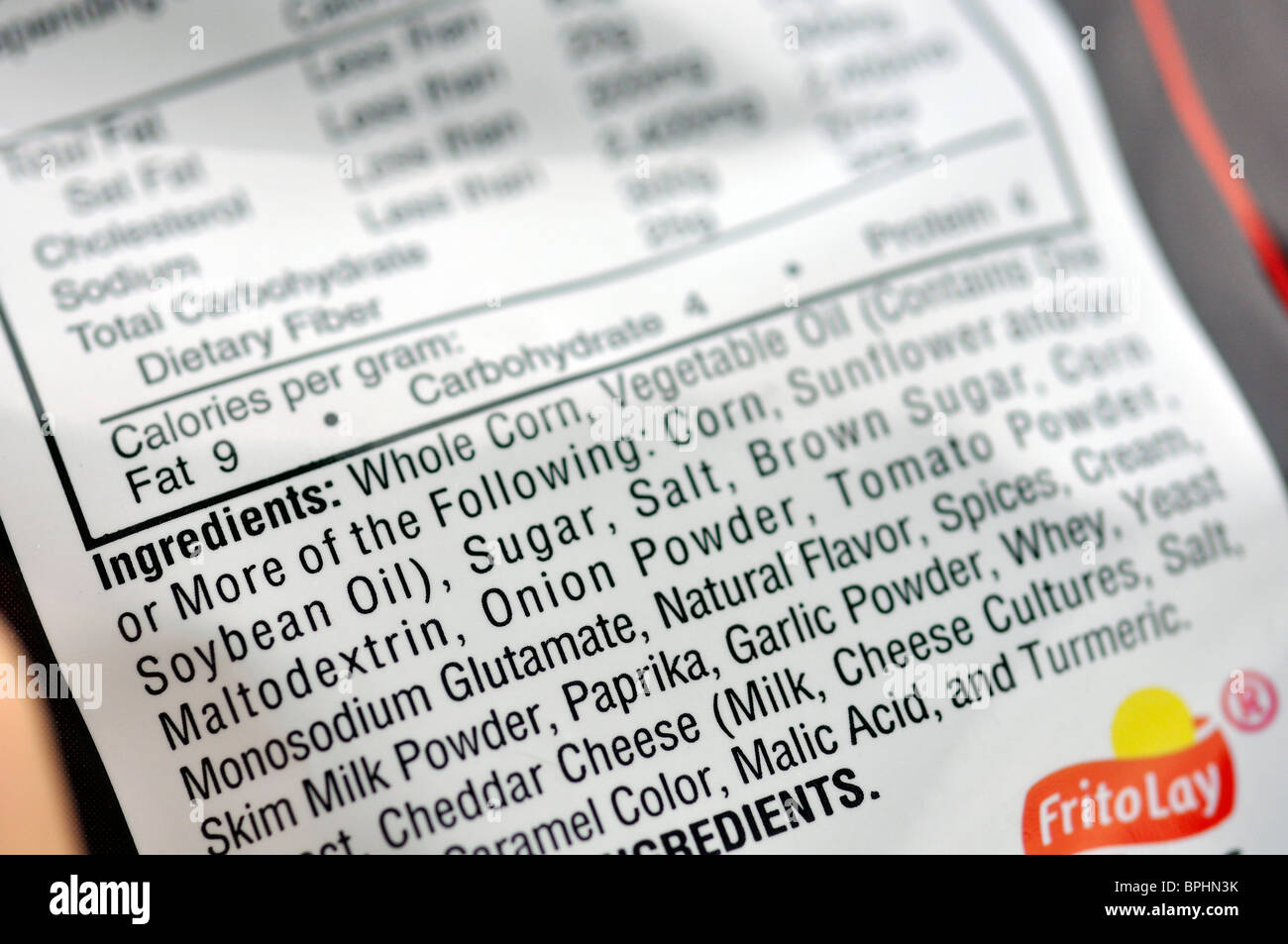 Frito Lay Label Stock Photos & Frito Lay Label Stock Images