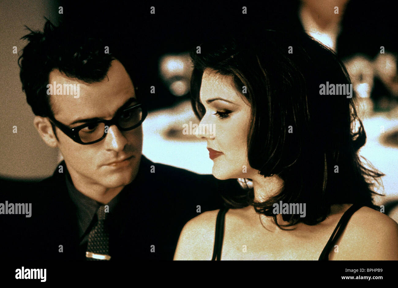 laura harring justin theroux mulholland stock photos