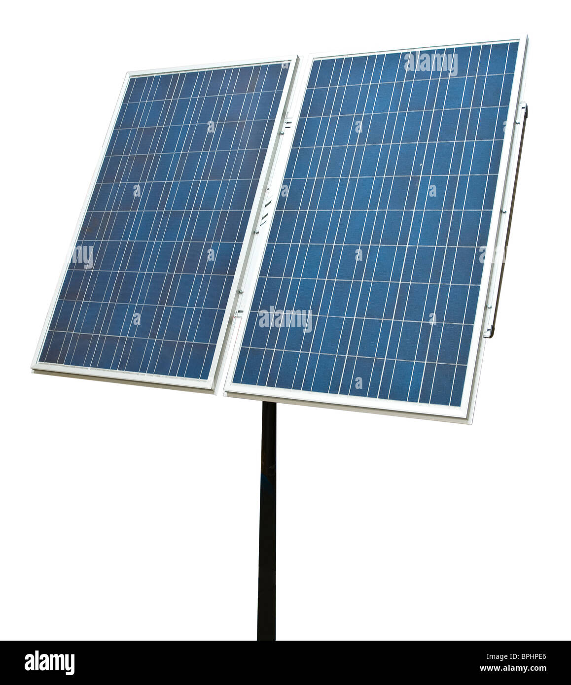Solar Panel Cut Out - Stock Image