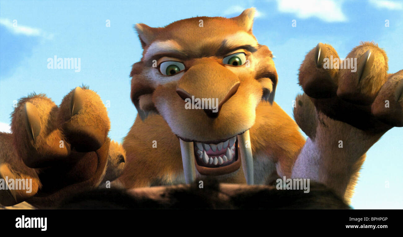 DIEGO ICE AGE (2002) - Stock Image