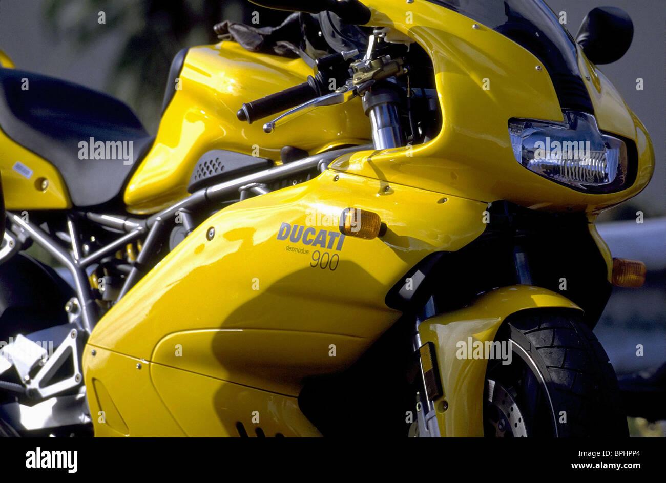 DUCATI 900 MOTORBIKE ROLLERBALL (2002) - Stock Image