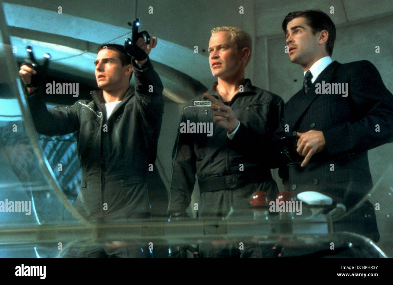 Tom Cruise Neal Mcdonough Colin Farrell Minority Report 2002 Stock Photo Alamy