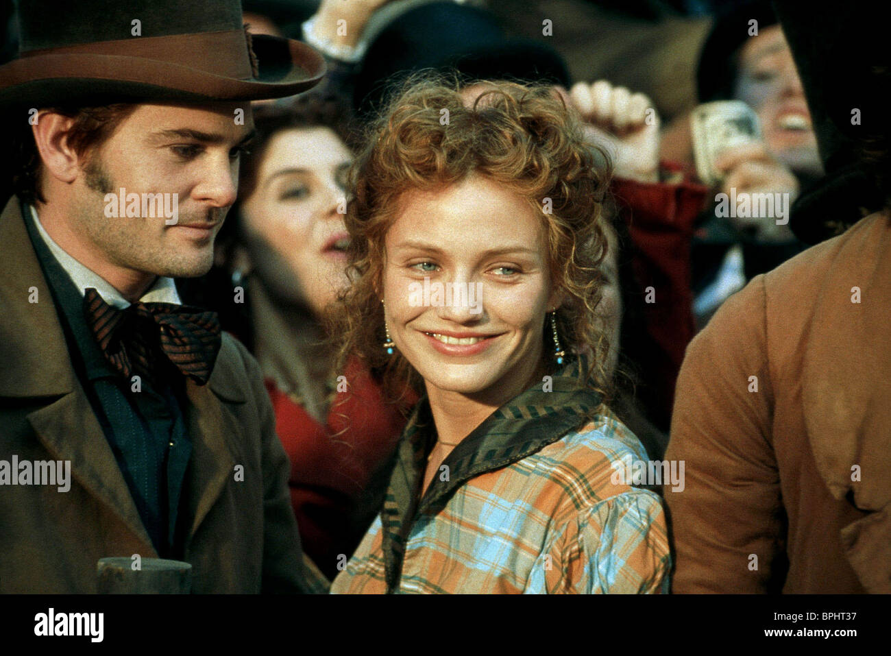 Henry Thomas Cameron Diaz Gangs Of New York 2002 Stock Photo