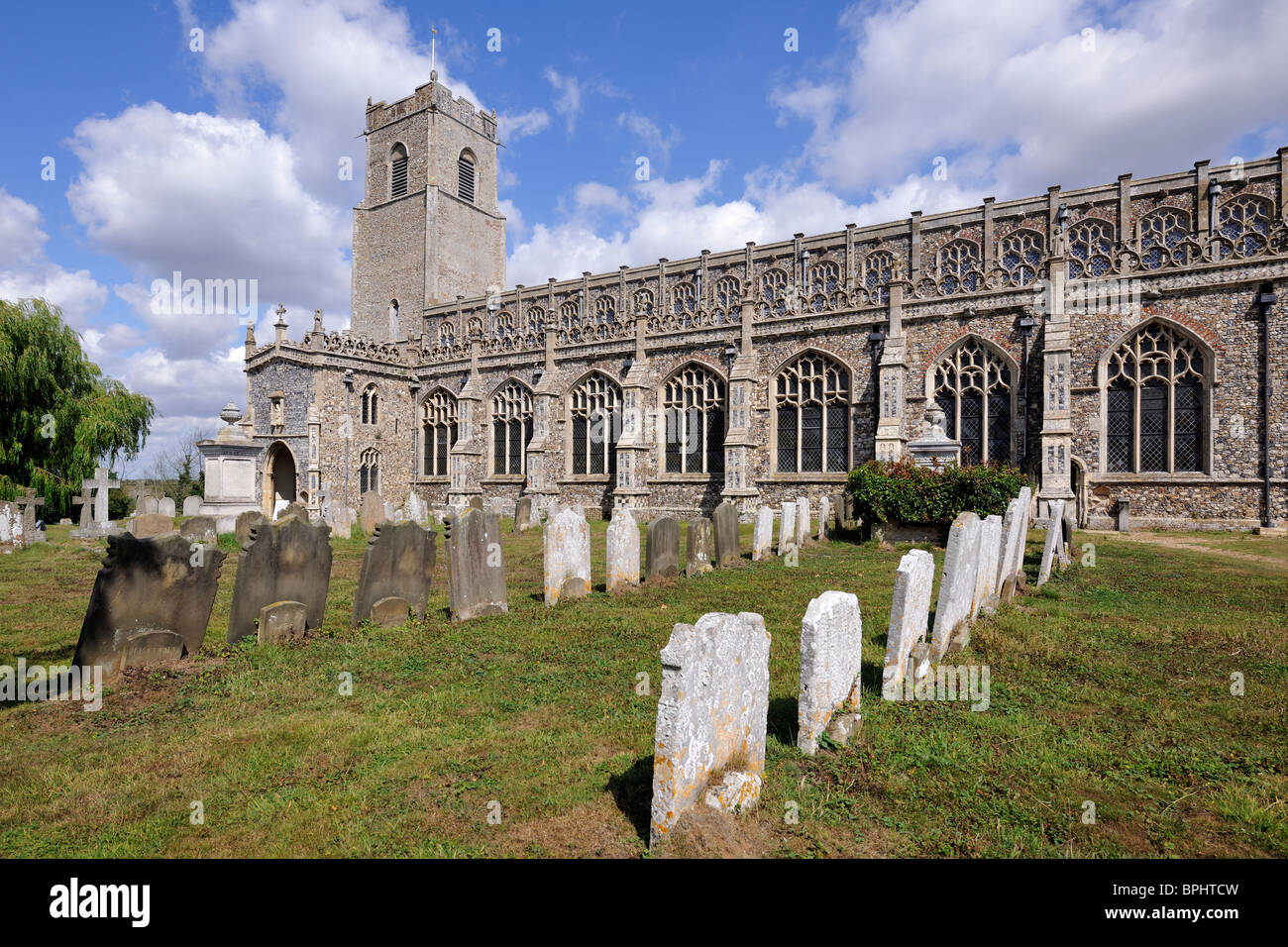 The Cathedral of the Marshes, Blythburgh, Suffolk, England - Stock Image