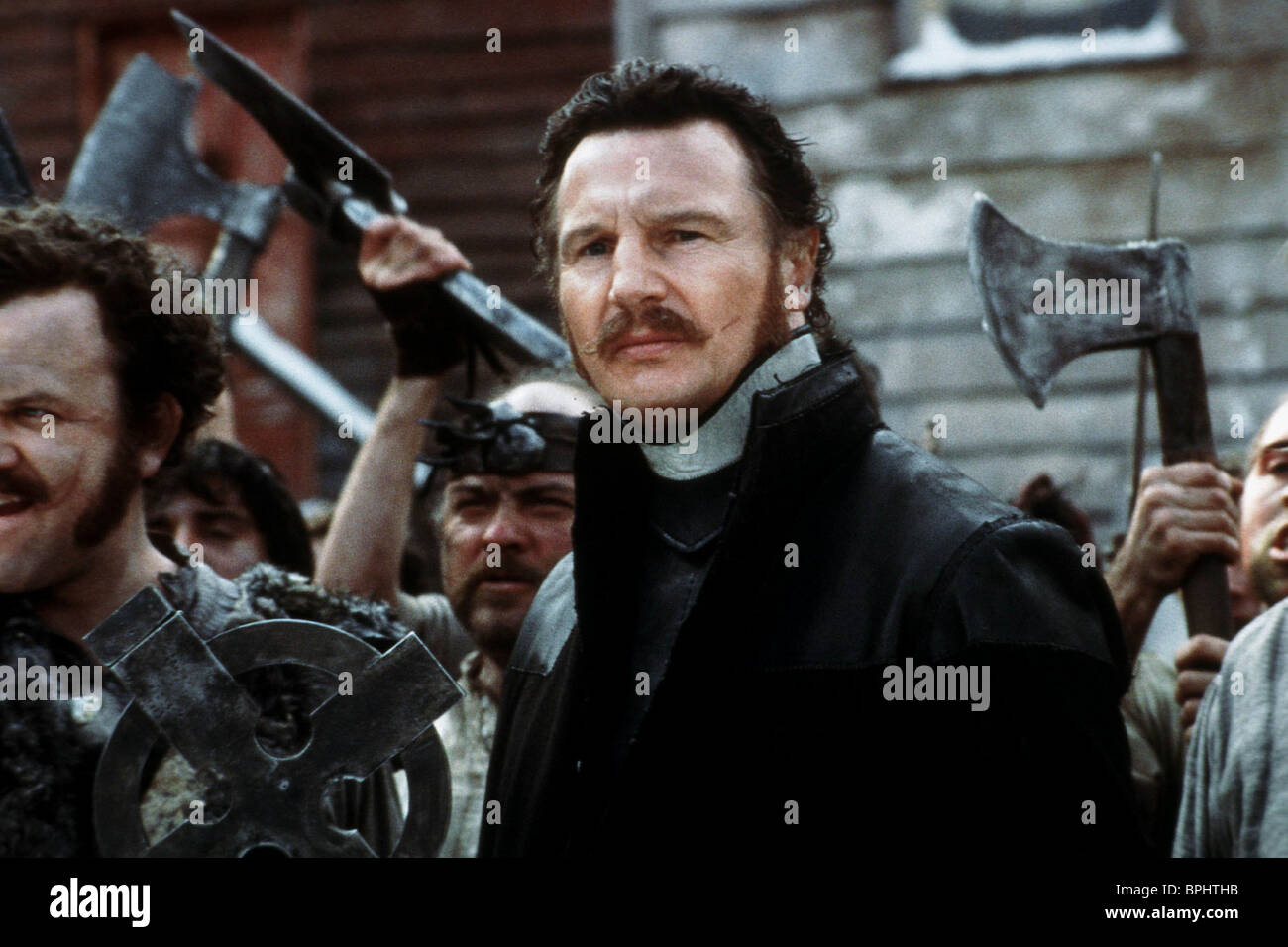 LIAM NEESON GANGS OF NEW YORK (2002) - Stock Image