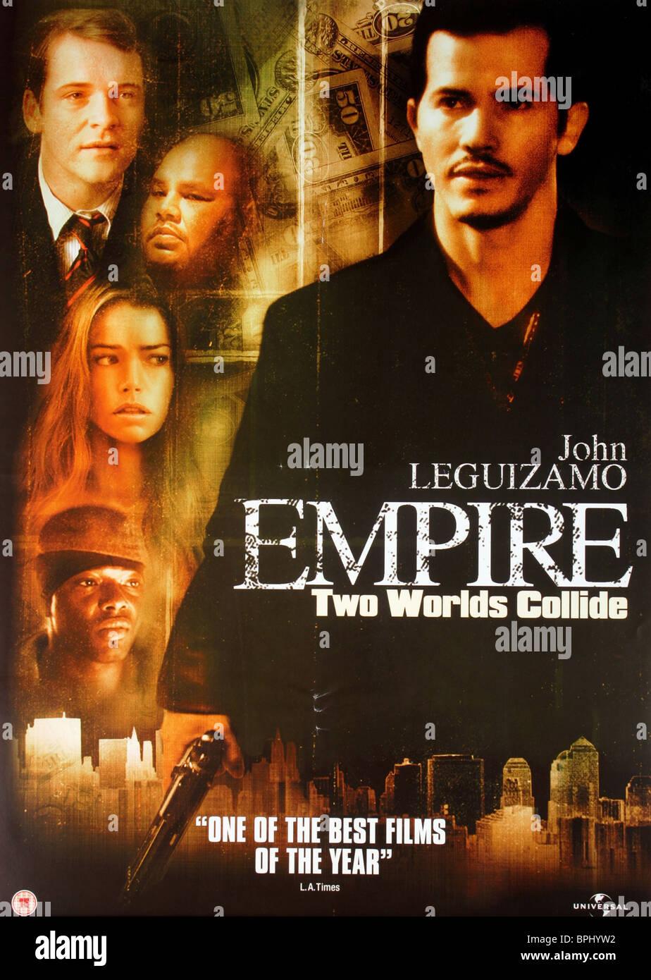 FILM POSTER EMPIRE (2002) - Stock Image