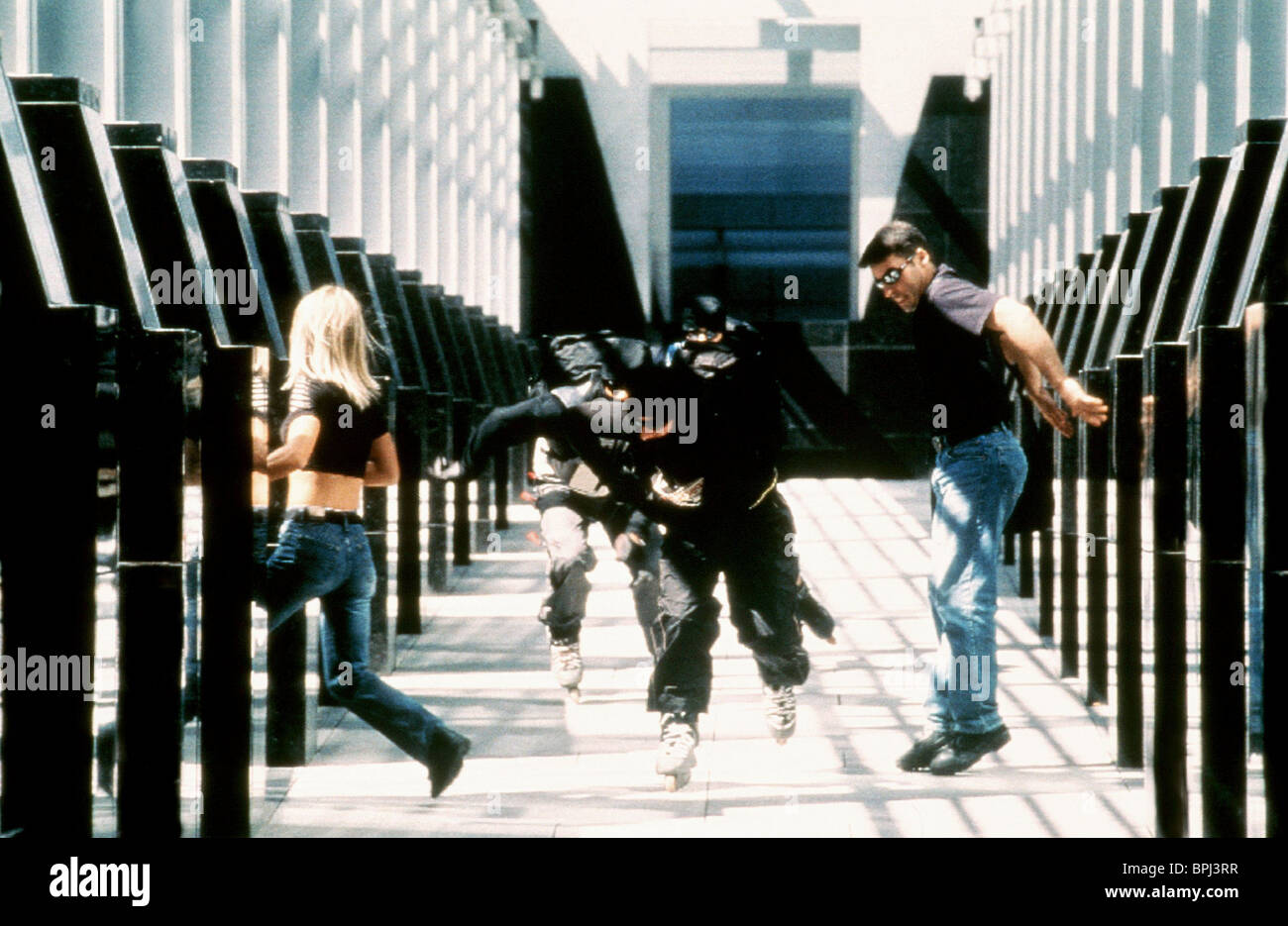GETAWAY SCENE RIDERS (2002) - Stock Image