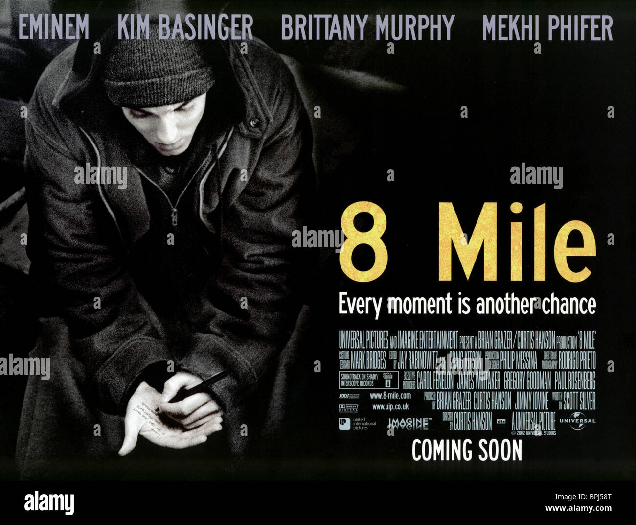 Eminem 8 Mile 2002 Stock Photo Alamy