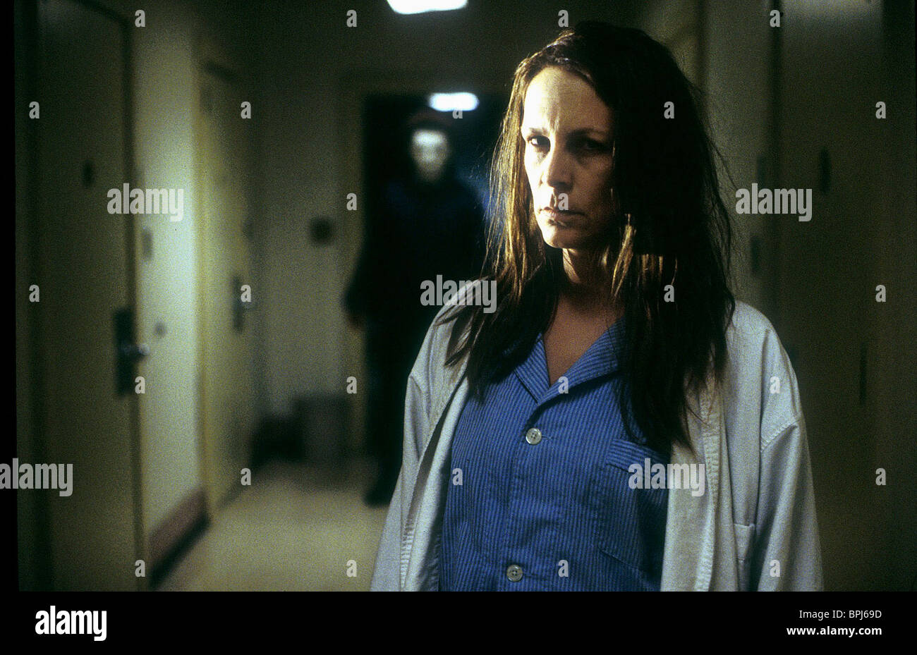 jamie lee curtis halloween: resurrection; halloween 8 (2002 stock