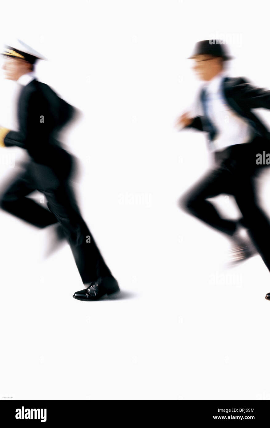 PROMOTIONAL ARTWORK CATCH ME IF YOU CAN (2002) - Stock Image