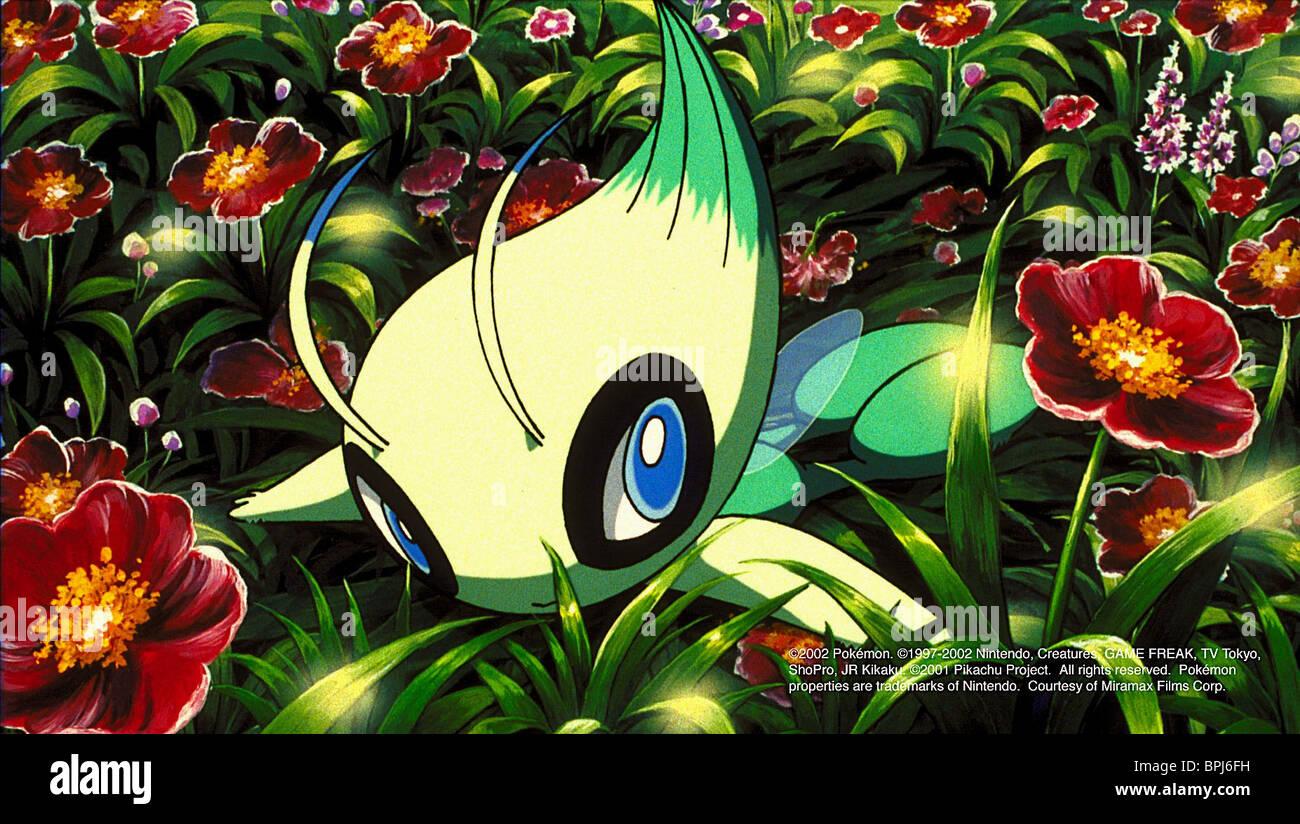 Celebi Pokemon 4ever Pokemon 4 The Movie 2002 Stock Photo Alamy