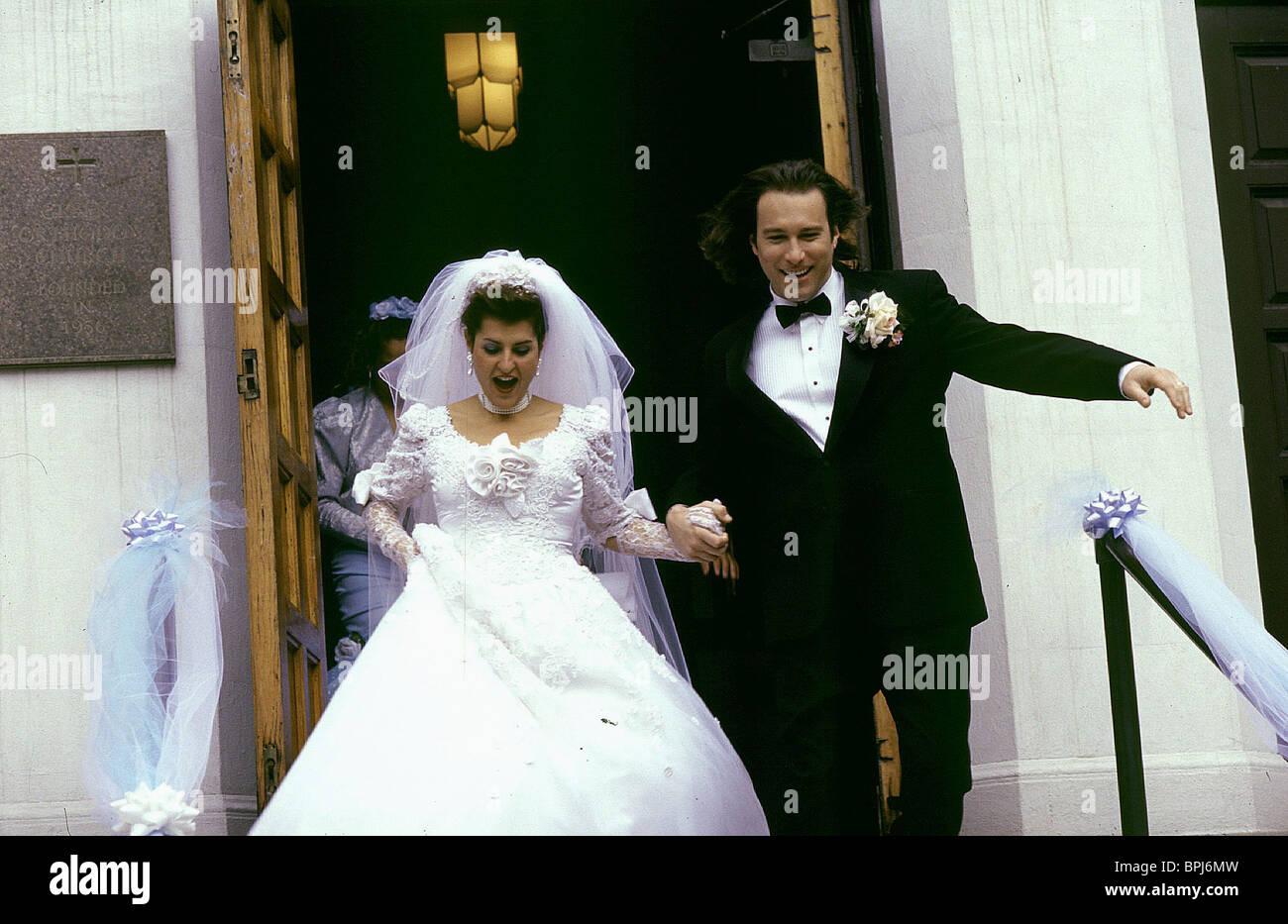 NIA VARDALOS & JOHN CORBETT MY BIG FAT GREEK WEDDING (2002 Stock ...