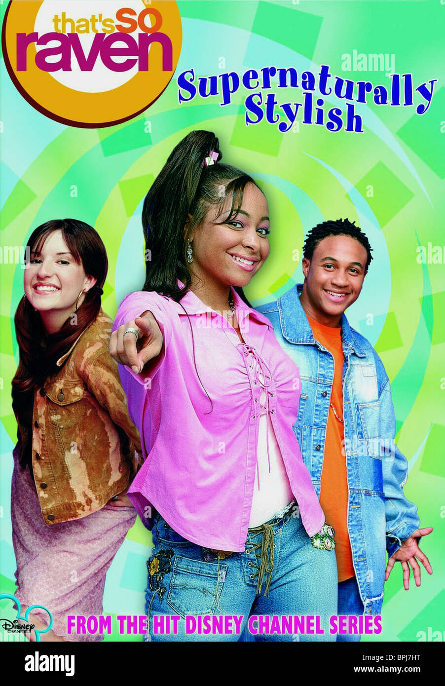 ANNELIESE VAN DER POL RAVEN & ORLANDO BROWN THAT'S SO RAVEN (2002) - Stock Image