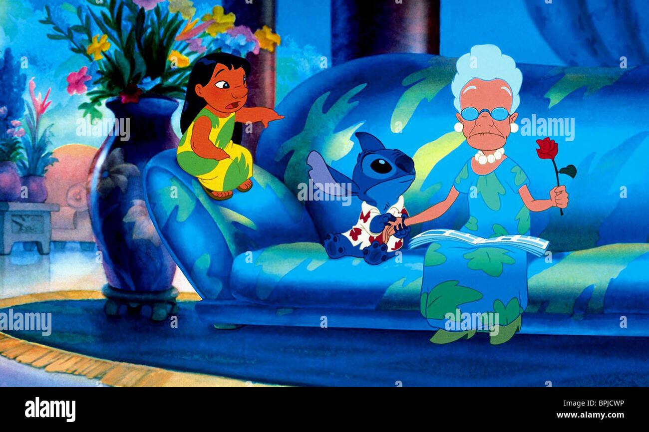 Lilo Stitch Lilo And Stitch 2002 Stock Photo Alamy