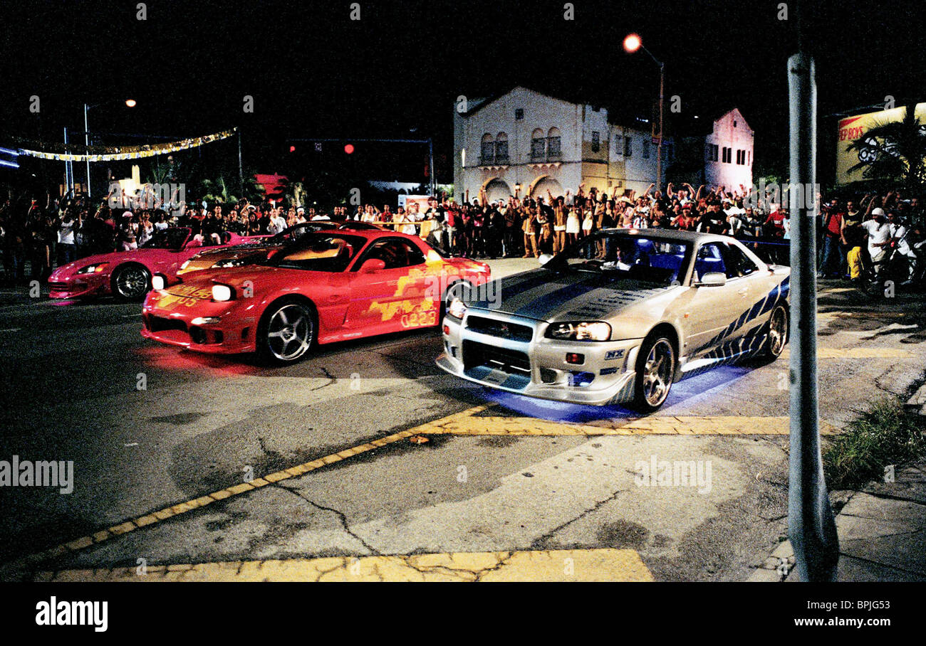 HIGH PERFORMANCE CARS 2 FAST FURIOUS THE AND 2003