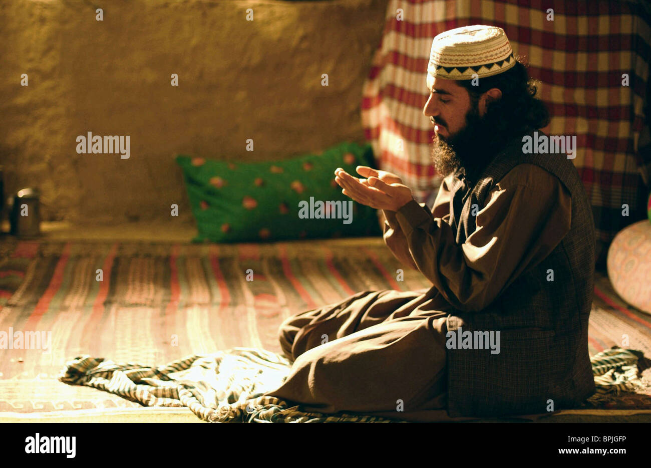 MOSLEM PRAYER SCENE SILENCE BETWEEN TWO THOUGHTS (2003) - Stock Image