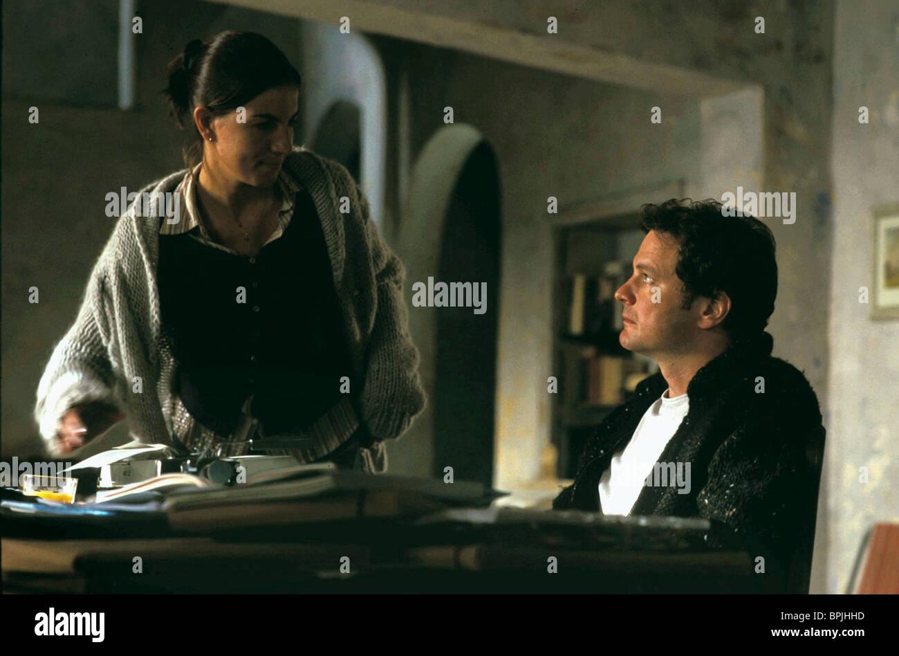 LUCIA MONIZ & COLIN FIRTH LOVE ACTUALLY (2003) - Stock Image