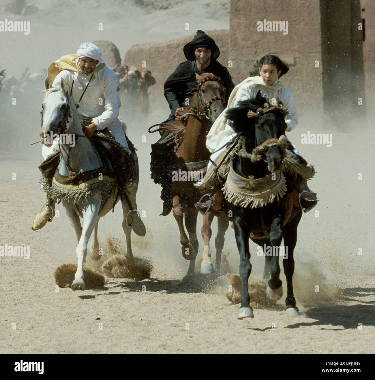 GERARD RUDOLF ALI AL AMERI & BIANA TAMIMI THE YOUNG BLACK STALLION (2003) - Stock Image