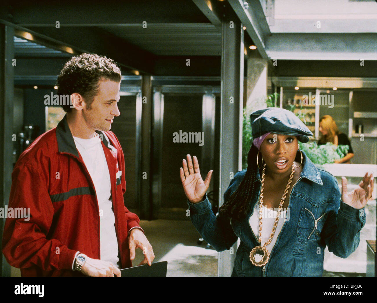 DAVID MOSCOW & MISSY ELLIOTT HONEY (2003) - Stock Image